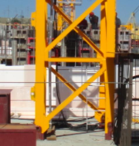 Коренная секция башенного крана Harbin