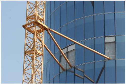 Пристежка башенного крана QTZ