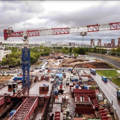 Башенный кран Yongmao STT1330 грузоподъемностью 64 тонны будет установлен на объекте  вблизи г. Тольятти