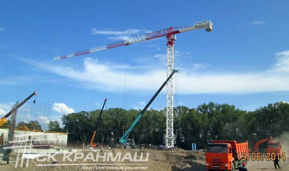 башенный кран в хакасии