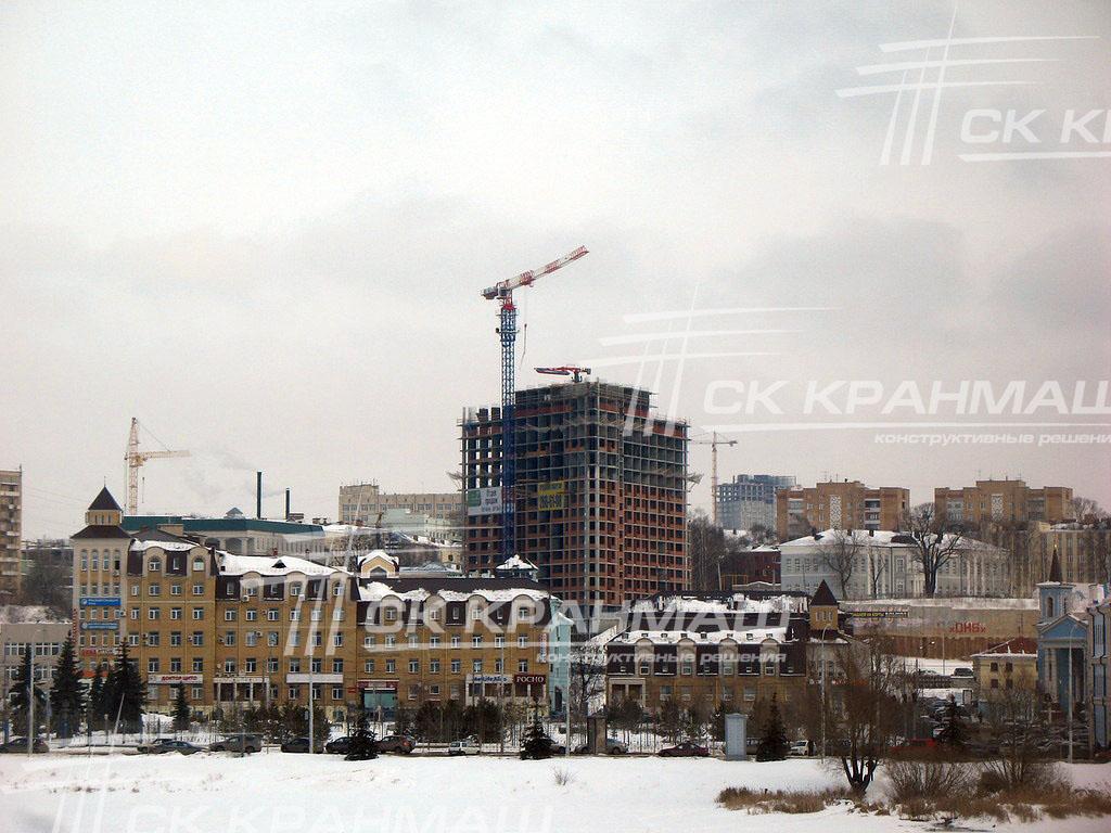 башенный кран в Татарстане
