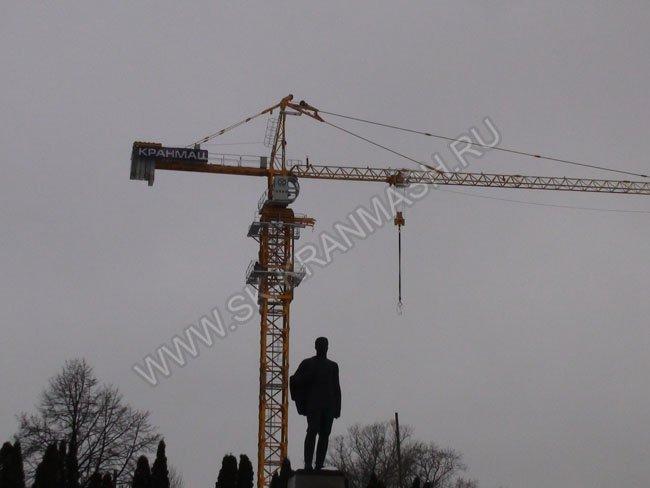 башенный кран во владимире