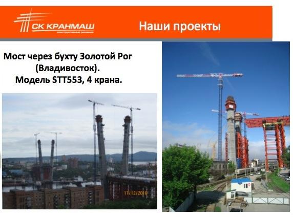краны во Владивостоке