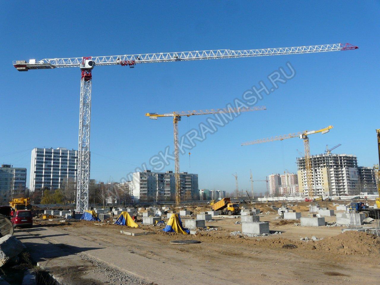 башенные краны в Воронеже