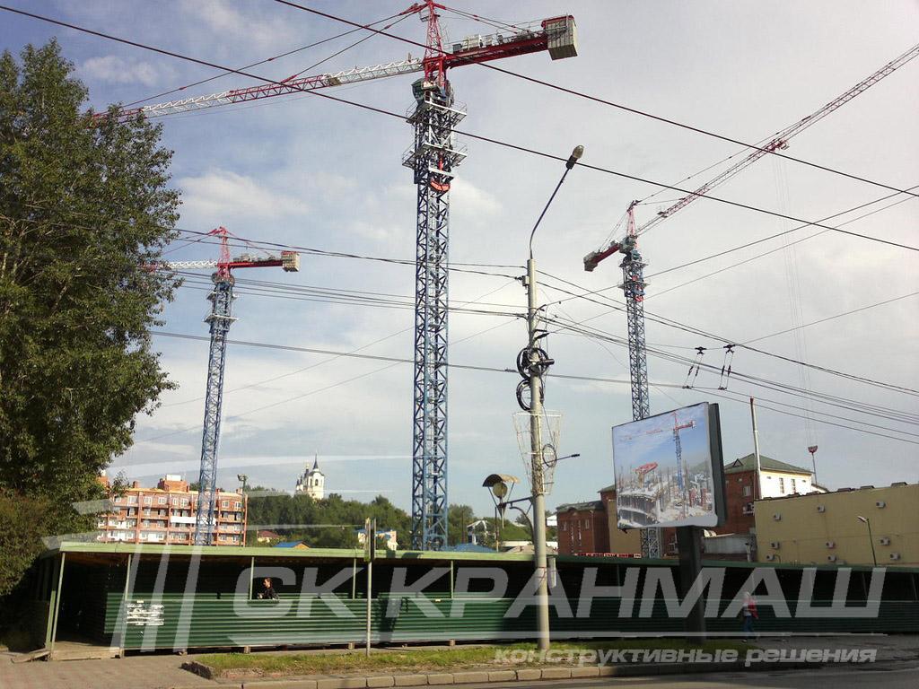 башенный кран в Томске